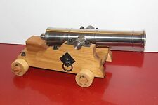 18 Inch Naval Cannon Replica Black Powder with Carriage