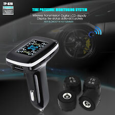 TP620 Wireless Car TPMS Tire Tyre Pressure Monitoring System +4 External Sensors