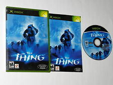 +++ THE THING Microsoft XBOX Game COMPLETE CIB - TESTED +++