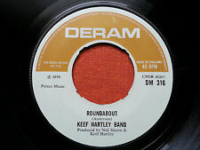 KEEF HARTLEY BAND-ROUNDABOUT UK 7'' 1970 EX DERAM COMPANY SLEEVE