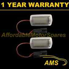 2X FOR LEXUS LS430 LS460 LS600H RX330 RX350 24 WHITE LED COURTESY FOOTWELL LAMPS