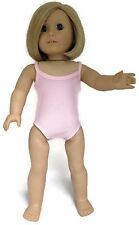 "Pink Sleeveless Leotard Gymnastics Dance made for 18"" American Girl Doll Clothes"
