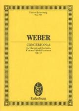 Weber: CONCERTO No. 1 IN F minor op. 73 per Clarinetto (min... etp793