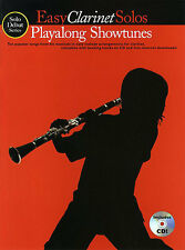 Easy Clarinet Solos Playalong Showtunes Music Book CD