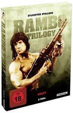 Rambo Trilogy Uncut Remastered DVD NEU FSK 18