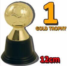1x MINI CALCIO color oro plastica TROPHY Giochi Divertenti Novità UK Venditore