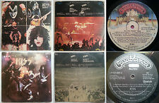 """KISS ALIVE! 2 SINGLE LPs THE HOLY GRAIL OF """"ALIVE!"""" VERSIONS NM AUDIO TOP RARITY"""