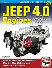 Jeep 4.0 Engnes: How to Rebuild and Modify Book~CJ-YJ-Wrangler-Cherokee~NEW!