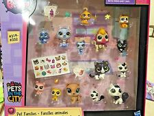 LITTLEST PET SHOP PET FAMILIES PETS IN THE CITY #319-#332 MOM BABY HUSKY DOG CAT
