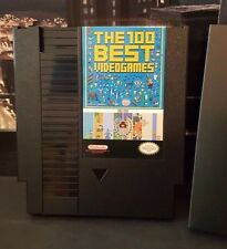The 100 Best NES Games Cartridge + Dust Cover, Castlevania, Megaman, Zelda