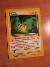 PL PIKACHU Pokemon PROMO Card #27 Black Star Set Power of One Movie Bumble Bee