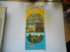 ancienne carte routière usa Eastern United States road map