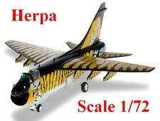 Avion de chasse Hellenic Air Force LTV A-7E Corsair II  - Herpa - Echelle 1/72