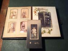 Antique Victorian (1895) Photograph Album complete with Photographs     #49