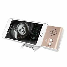 Mini Portable Plug and Play Stereo 3.5mm Audio Dock Speaker for iphone 6 Samsung