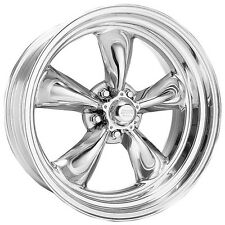 15 inch American Racing Torq Thrust II 15x6 Polished RIM WHEEL 5x4.75