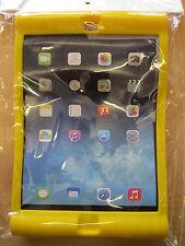 Yellow kids / enfants / jeunes enfants en caoutchouc Bounce peau impact coque pour Apple iPad Air