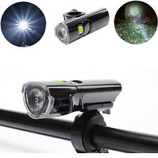 3W Deluxe Waterproof LED Bike Headlight Bicycle Light Front Flashlight Torch New