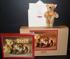 SPECIAL TEDDY BEAR BLOND W/ CELEBRATION OF STEIFF BOOK EAN 665325