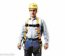 MILLER BY HONEYWELL T4507 Full Body Harness, Universal, 400 lb., Yellow