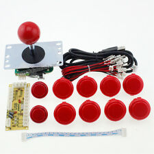 Arcade DIY KIT Parts USB Encoder to PC Original Sanwa Joystick + OBSF-30 Buttons