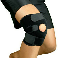 Sports Volleyball Basketball Knee Pads Breathable BLK Knee Brace Adjustable Size