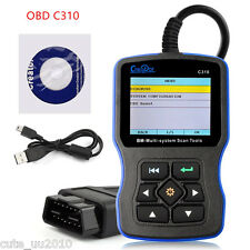 C310 V5.5 OBDII Multi-System Scaner Tool Engine Fault Code Reader For BMW MINI