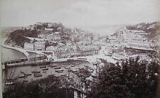 "ANTIQUE THREE ALBUMEN BRITISH PHOTOGRAPHS ""TORQUAY AND COASTLINE"" 1893"