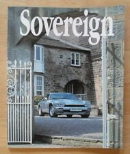 JAGUAR SOVEREIGN orig 1993 International Magazine Brochure - Edition 8