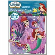 ARIEL THE LITTLE MERMAID FAVOR PACK (48pc) ~ Birthday Party Supplies Toys Disney