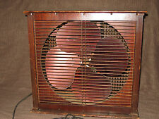 """40-50's Emerson Electric 16"""" Variable Speed Box Fan Type 93648-AA Works Great"""