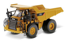 HO 1:87 DIECAST MASTERS 85261 Caterpillar CAT 772 Off-Highway Truck with Figure