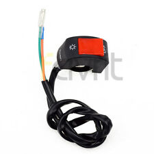 """7/8"""" Light On Off Switch For 50cc 110cc 125cc  Motorcycle Scooter Dirt Pit Bike"""