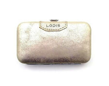 Lodis - NWT - Gold 100% Leather - Manicure Tool/Tools Grooming Travel Set