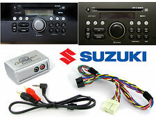 Suzuki Grand Vitara Swift Aux Adaptador De Plomo De 3.5 mm Jack En Coche Ipod Mp3 ctvszx001