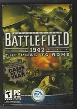 BATTLEFIELD 1942 THE ROAD TO ROME PC CD-ROM EA GAMES 2003