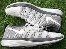 Womens Nike Trainers Flyknit Lunar UK Size 3.5 NEW R.R.P. £135 in 2 Tone Grey