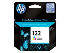 HP 122 Tri-Color Genuine CH562HE Original Ink Cartridge Deskjet Full New Sealed