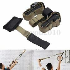 Suspension Trainer Straps Gym Home Stretch Workout Resistance Training Cross fit