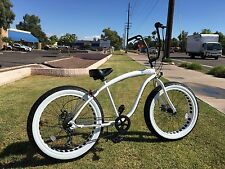 STORM TROOPER  �� Fat Tire Beach Cruiser Bike -NEW 7 SPEED-CUTOUT RIMS -SIKK