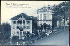 1915 - Garda di Sanico - Ricordo feste per il trasloco della Parrocchia alla chi