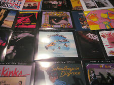 THE KINKS COLLECTION OF 26 TITLES & 32 PIECES OF VINYL MANY 180 GRAM + 5 CD'S