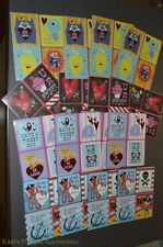 64 Pieces Valentine's Day Sticker Cards From Paper Craft New Cute Stickers LOVE