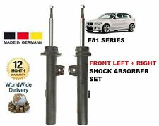 FOR BMW E81 1 SERIES 2006-2012 NEW FRONT LEFT + RIGHT SHOCK SHOCKER ABSORBER SET