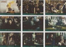 "The Hobbit An Unexpected Journey - ""Lonely Mountain"" 18 Card Chase Set P01-18"