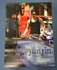 JUNJIN (SHINHWA) - Forever Special Edition OFFICIAL POSTER HARD TUBE CASE