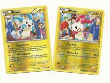 PLUSLE & MINUN -2 Legendary Treasures Pokemon Card - UNCOMMON REV HOLO -MINT