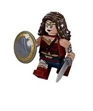 LEGO DC Super Heroes Avengers Wonder Woman Minifigure NEW
