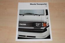 00256) Mazda E 2000 2200 - technische Daten & Aussstatungen - Prospekt 11/1993