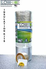 "ESP Low-E SSR Reflective Foam Core Insulation Weatherization Kit: Roll 24""x50''"